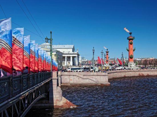 Губернатор Петербурга утвердил размер выплат ко Дню Победы