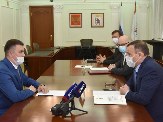 Глава Марий Эл встретился с руководителем Управления Росприроднадзора