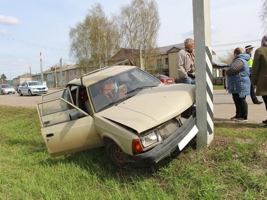 В столкновении двух автомобилей в Сараях пострадал ребенок