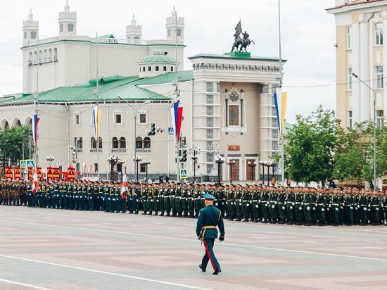 В Улан-Удэ на парад Победы смогут попасть «антиковидные» зрители