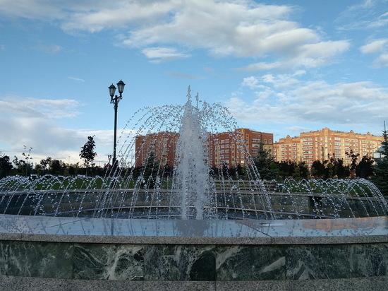 В Йошкар-Оле начался сезон фонтанов