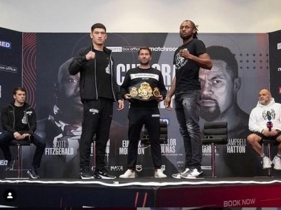 Ричардс пишем, Рамирес в уме: лучший боксер России дерется в субботу