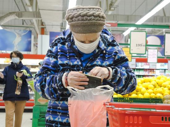 Реальные пенсии россиян снизились впервые за пять лет