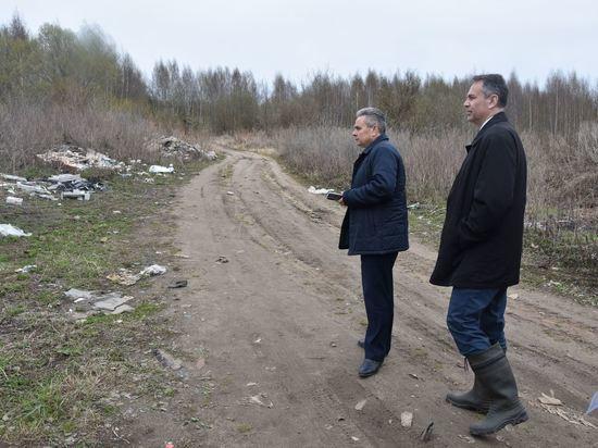Алексей Смирнов потребовал разобраться со стихийными свалками в Костроме