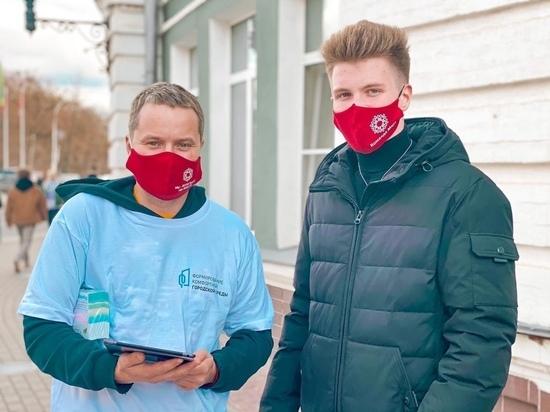 Активисты работают в 14 точках в разных районах Вологды