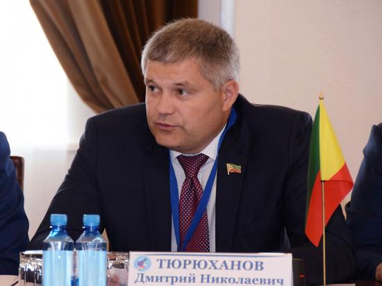 Исполняющий обязанности спикера Заксобрания Забайкалья Тюрюханов за год заработал 3,6 млн рублей