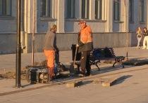На проспекте Кирова и Волжской начались загадочные работы