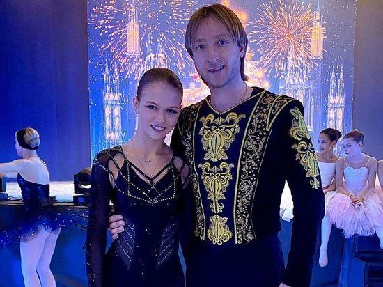 Евгений Плющенко объявил о прекращении работы с фигуристкой Трусовой