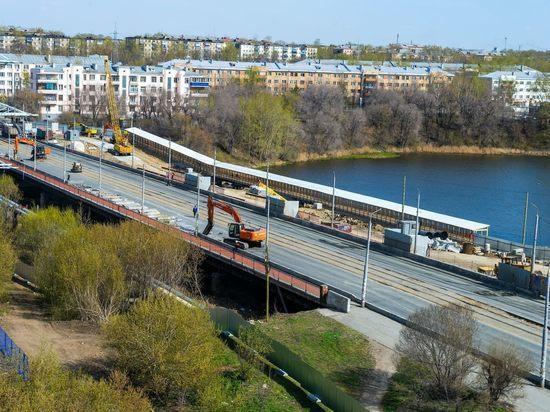 В Челябинке полностью закрыли Ленинградский мост