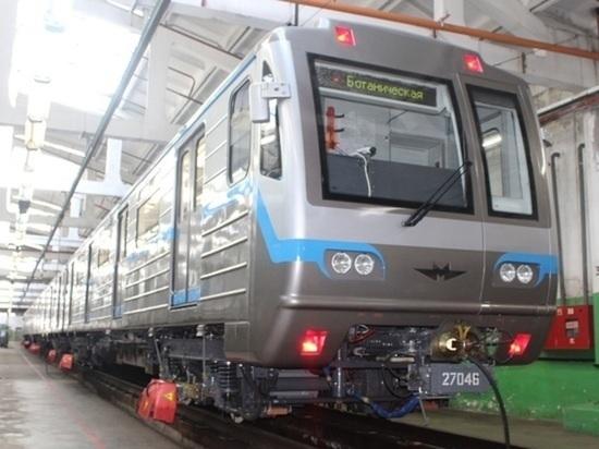 В екатеринбургском метрополитене из поезда высадили пассажиров: «Запах тлеющей проводки»