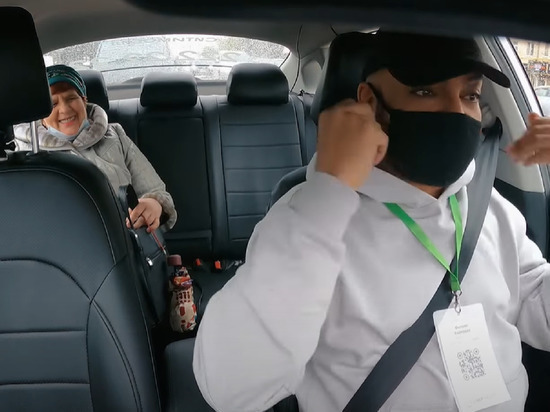 Певец попробовал себя в роли таксиста