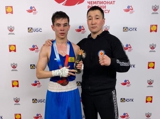 Калмыцкий боксер стал бронзовым призером чемпионата России среди юниоров