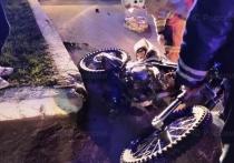 Мотоциклист разбился у калужского монастыря в пасхальную ночь