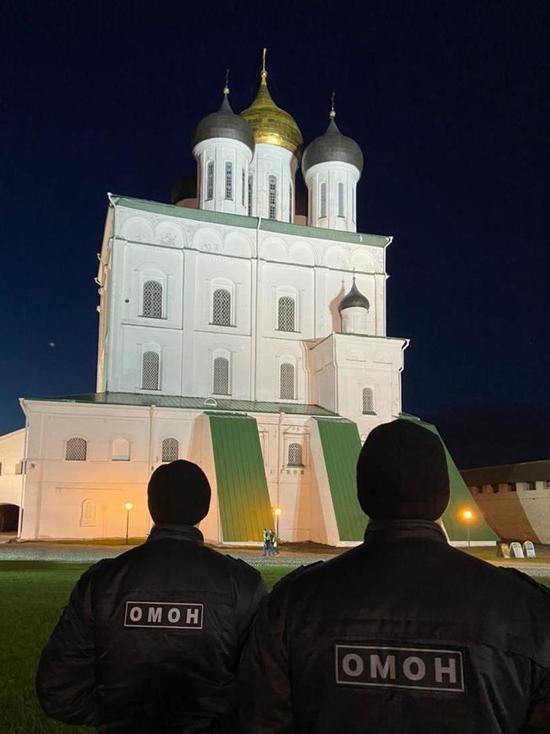 Пасхальные мероприятия в Пскове обошлись без происшествий