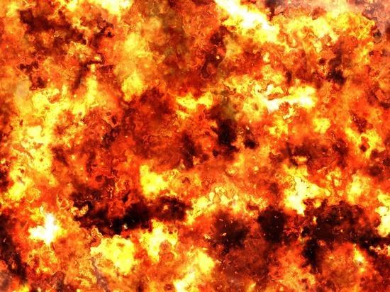 Отходы лесопиления и нефтешламы горели в Томске