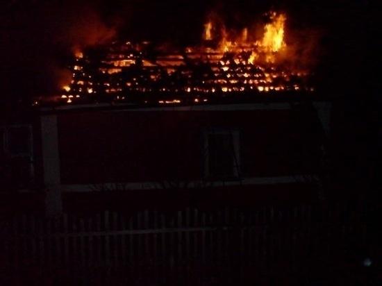 На пожаре в Клепиковском районе пострадала маленькая девочка