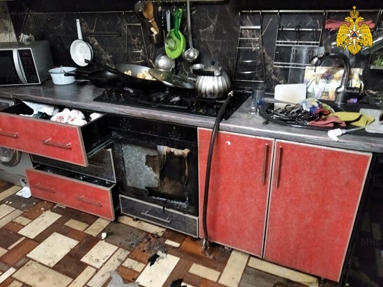 Подросток получил сильные ожоги на пожаре в Калужской области