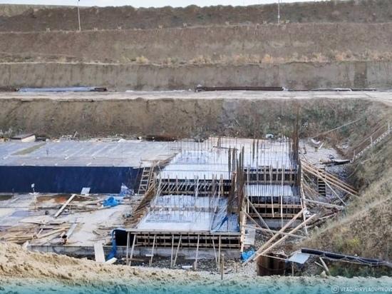Ставропольский губернатор показал строящуюся Горько-Балковскую МГЭС
