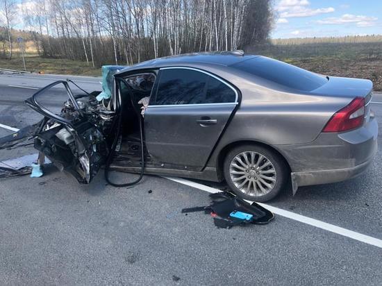 Водитель Ssang Yong погиб в лобовом ДТП под Калугой