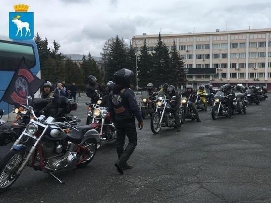 В Йошкар-Оле байкеры объявили о старте нового мотосезона