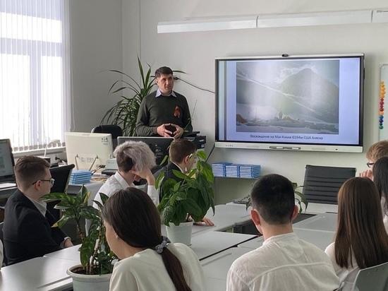 Депутат Госдумы рассказал школьникам Губкинского о защите интересов северян