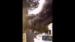 На иранском химическом заводе произошел крупный взрыв: видео с места