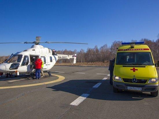 На Южном Урале тяжелых пациентов спасают с помощью санитарной авиации