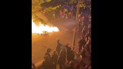 В Берлине первомайская демонстрация закончилась массовыми беспорядками: видео