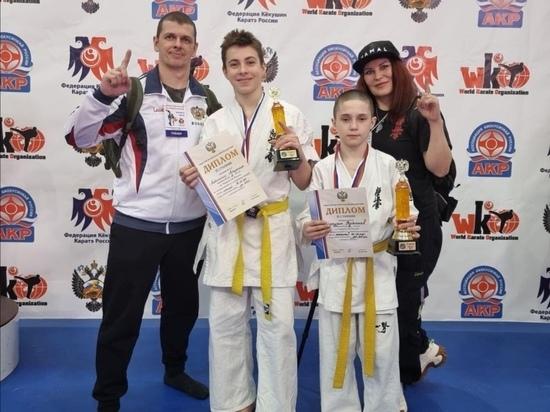 Юные спортсмены из Ноябрьска взяли «серебро» на первенстве РФ по киокусинкай