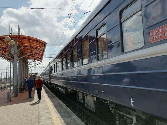 Круизный поезд «Жемчужина Кавказа» встречают на Кавминводах