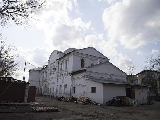 В Ярославле начали восстанавливать Николо-Тропинский храм.
