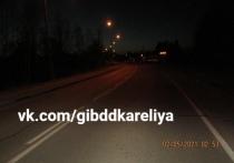 Водитель в Карелии сбил пешехода и уехал с места ДТП