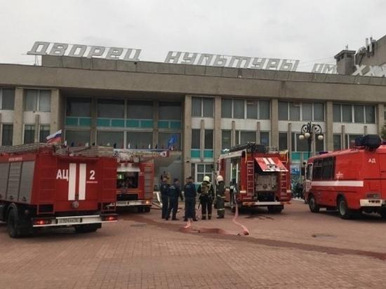 В Йошкар-Оле ведется проверка пожара в ДК им. ХХХ-летия Победы