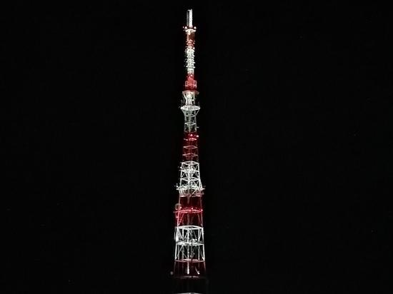 На телебашне в Рязани включат праздничную подсветку в День радио