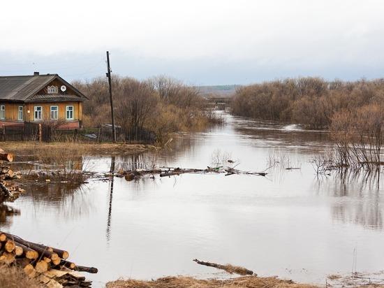 Река Обь может подтопить приусадебные участки в Томской области