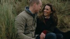 Принц Уильям и Кейт Миддлтон отпраздновали годовщину свадьбы семейным видео