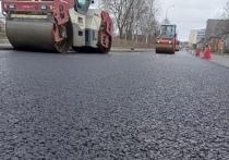 В Петрозаводске ремонтируют дороги и тротуары