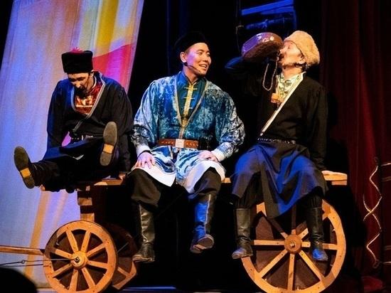 Главный театр Калмыкии закрыл сезон премьерой музыкальной комедии