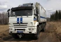 Полицейский автодом на КамАЗе отправился в масштабный рейд по Красноярскому краю