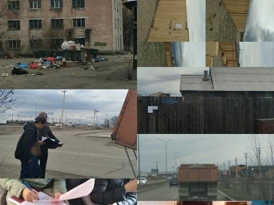 Власти Кызыла выявили четыре самовольно занятых земельных участка