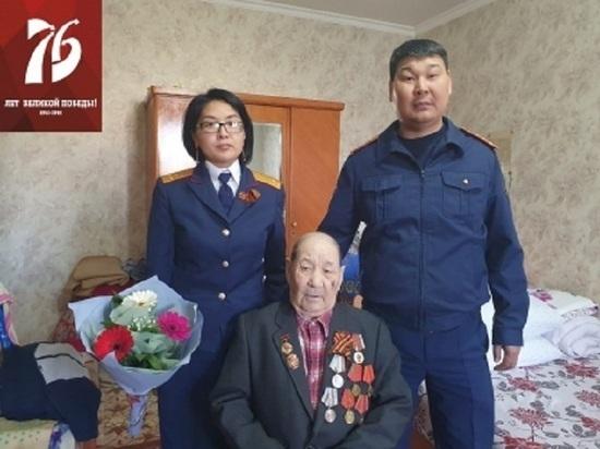 Калмыцкие следователи поздравили ветеранов войны