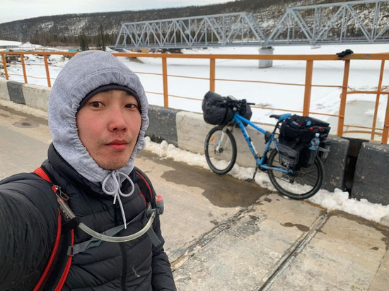 Якутский велосипедист поехал до Улан-Удэ «тропой Тенгри»