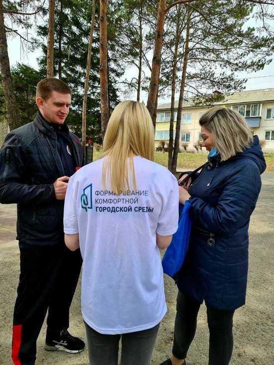 Волонтеры организовали в Плодопитомнике выездное голосование по благоустройству