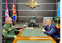 Губернатор Приангарья рассказал Сергею Шойгу о причинах задержки строительства Суворовского училища