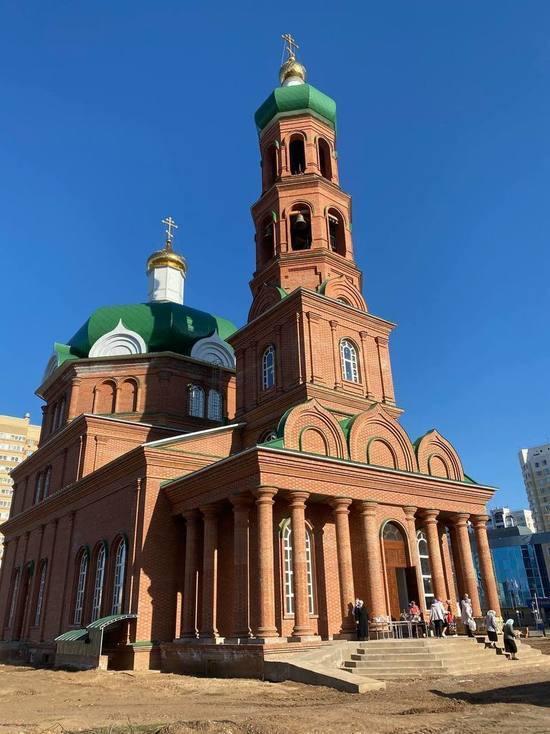 Новый храм открылся в Оренбурге