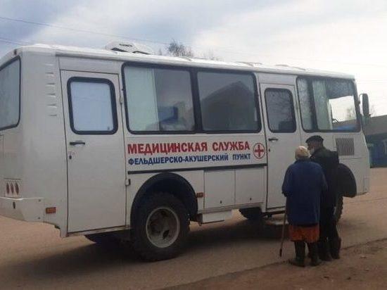 В Костромской области передвижные прививочные пункты доехали до Островского района
