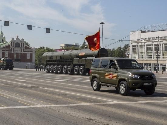 В Новосибирске перекроют центр города из-за репетиций парада Победы