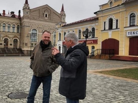 Калуга перенимает опыт Рыбинска по оформлению фасадов исторических зданий