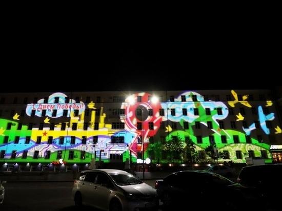 В Улан-Удэ на здании Росгеологии появится изображение ко Дню Победы