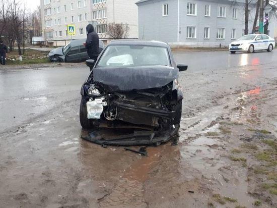 В Марий Эл пассажир пострадал при столкновении автомобилей